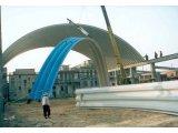 Оборудование для строительства бескаркасных арочных зданий из Китая