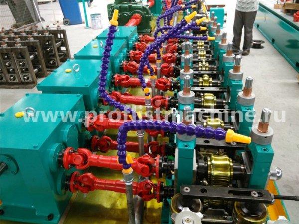 Линия по производству сварных трубмодельJB25,Китай 2018