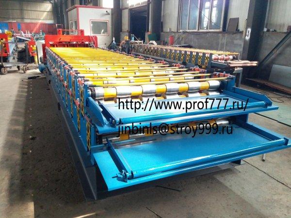Двухъярусная линия для производства профнастила С8 и МП20