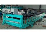 Оборудование для производства профнастила Модель C8 из КНР