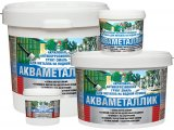 Акваметаллик - водная антикоррозионная акриловая грунт-эмаль по металлу