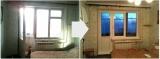 Балконный блок Профиль: REHAU Blitz Стеклопакет: однокамерный с энергосбережением
