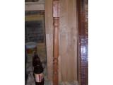 Балясина-Кнопка 1 50х50х900 из массива дуба, ясеня. Ручная доводка.