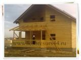 Дачные дома из профилированного бруса