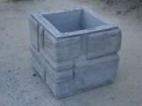 декоративный блок для столбов забора 320х320х290