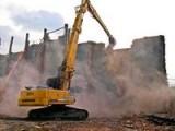Демонтаж, снос промышленных зданий, строений, конструкций