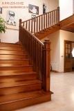 Деревянная лестница на тетивах. Модели 2012 г !