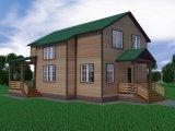 Каркасный дом + Баня в подарок