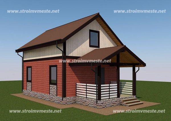 Дома из SIP-панелей. Дом 100 м2 за миллион рублей!
