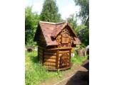 Домик для колодца, строительство колодцев, септик для дачи.