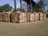 Дрова березовые колотые. От 2-х куб. м.