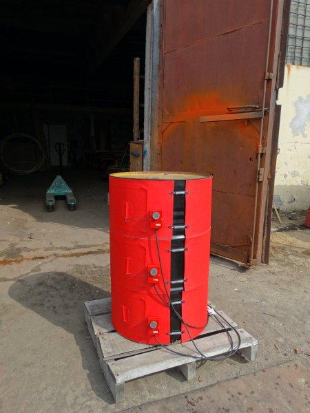 Гибкие поясные полиуретановые нагреватели для бочек