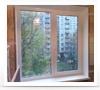 """Двухстворчатое пластиковое окно """"под ключ"""". Профиль: REHAU Blitz Стеклопакет: однокамерный с энергосбережением"""