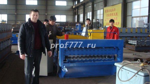 Продаем станок для изготовления профнастила в Китае