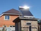 Горячая вода на даче без затрат на электричество!