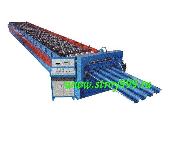 Оборудование для производства профнастила H75,Китай 2018