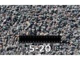 Долгосрочные автомобильные поставки гравийного щебня фр. 5-20 (М1000)