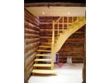 Изготовление Лестниц из массива Сосны. Винтовые, Поворотные, Маршевые лестницы.