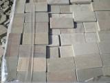 Камень пиленый галтованный натуральный природный плитка