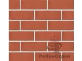 Кирпич облицовочный Новомосковский, персик красный, гладкий, 1,4 НФ, утолщенный
