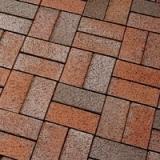 Клинкерная тротуарная плитка Gala Flamea (FELDHAUS KLINKER, артикул P403KF)