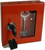 Ключницы металлические для 1-го комплекта ключей со стеклянным окном.