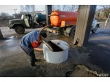 Комплекс услуг по откачке жидких бытовых отходов.