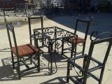 Комплект металлической мебели