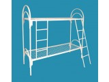 Кровати металлические для казарм, кровати двухъярусные для студентов, кровати для рабочих.