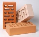 Лицевой керамический кирпич, персиковый, одинарный, Маркинский, М 150, F 75