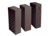 Лицевой керамический кирпич RAUF, коричневый, 250х120х65мм, гладкий и с накатком