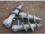 Литые наконечники для винтовых свай НЛ-120/73-НКТ