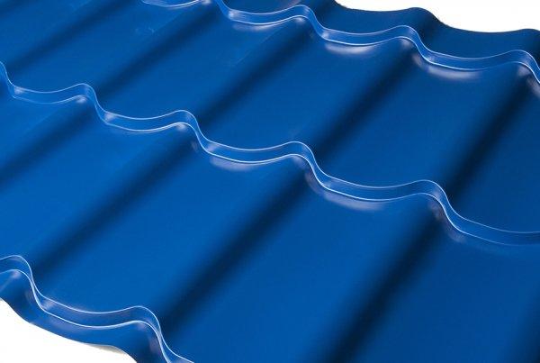 Металлочерепица Ral 5005 Синий 0,45