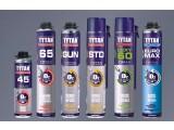 Монтажная пена TYTAN 65 профессиональная зимняя Применяется при температурах от -20С до 30С для: