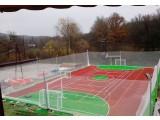 Наливное резиновое покрытие для спортивных, детских площалок