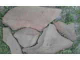 Натуральный камень песчаник Фонтанка серо-зелёная природная