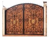 Недорого- монтаж красивых и изящных: кованых ворот, калиток в Старом Осколе, Губкине - от ЗДК тел. 7 (4725) 333-000
