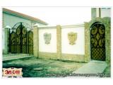 недорого-ВОРОТА кованые, забор, навес-в Старом Осколе, Губкине - от ЗДК, год основания 1998, -заводское изготовление