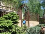 Ограждения декоративные деревянные. Заборы, перголы, шпалеры, арки трельяжи для сада.