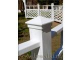 Ограждения декоративные деревянные. Заборы, шпалеры, арки трельяжи для сада под заказ.