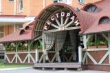 отделка ресторана деревом в Москве