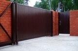 Откатные ворота производство, установка ворот.