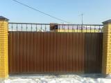 откатные ворота, заборы, навесы