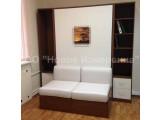 Откидная кровать совмещенная с диваном - идеальное решение для гостиных.