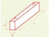 Перемычка брусковая 9ПБ - 21 - 37п (2,07х0,19х0,12 м)