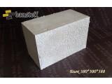Полистиролбетон Блок 380*300*588 D400 Возведение несущих и самонесущих стен, перегородок.