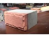 Полистиролбетонный блок с декоративным слоем и без 400х200х300 , D 450-600, В 1.5-2.5