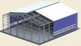 Производство быстровозводимых зданий и сооружений из легких металлических конструкций