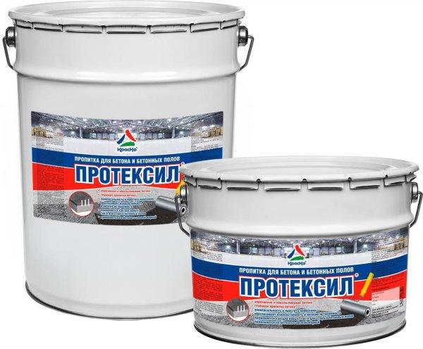 Протексил - обеспыливающая пропитка для бетонных полов