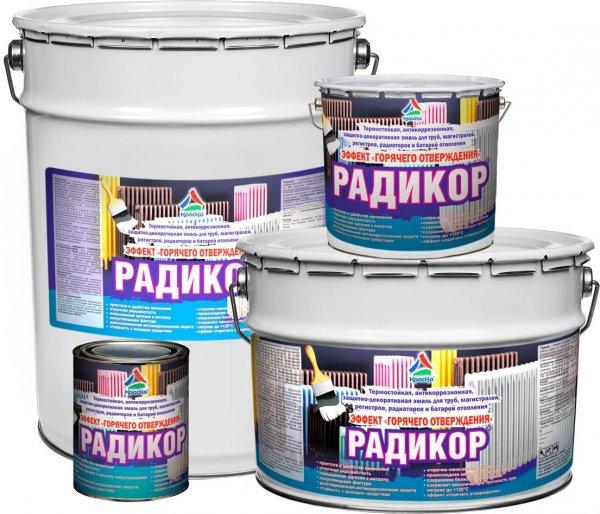 Радикор - эмаль для радиаторов с эффектом горячего отверждения